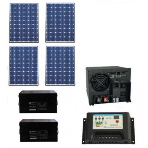 1000W Solar Panel All in one Package, 1kW Solar Panel All in