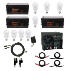 Three Batteries, All in one Inverter Package
