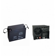 1KVA and 200AH Battery Inverter Package